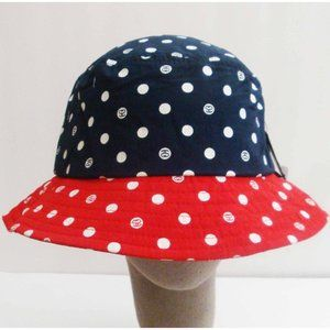 Stussy women's dots print sunhat